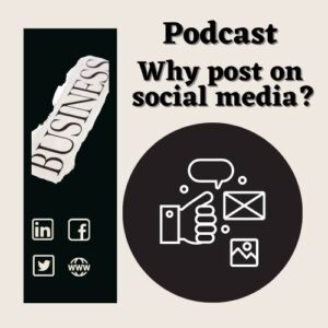 why post to social media